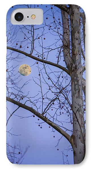 Early Moon IPhone Case