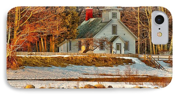 Early Morn At Mission Point IPhone Case by Nick Zelinsky