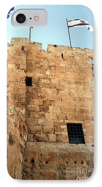 IPhone Case featuring the photograph Early Morning At The Jaffa Gate by Doc Braham