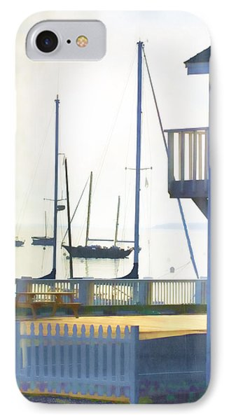 Early Morning Camden Harbor Maine Phone Case by Carol Leigh