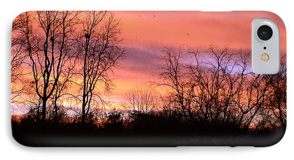 IPhone Case featuring the photograph Early Morning Color Canvass by Wanda Brandon