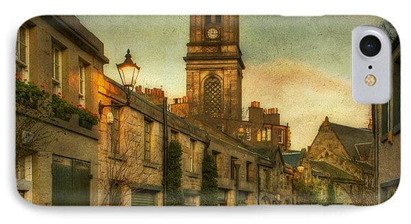 Early Morning Edinburgh Phone Case by Lois Bryan