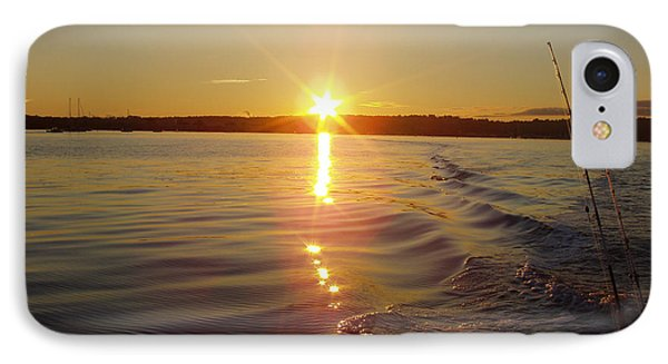 IPhone Case featuring the photograph Early Morning Fishing by John Telfer