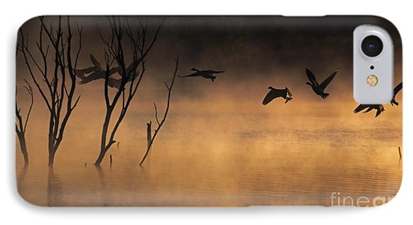 Early Morning Flight IPhone Case by Elizabeth Winter