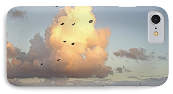 Early Morning Flight IPhone Case by Joan McArthur