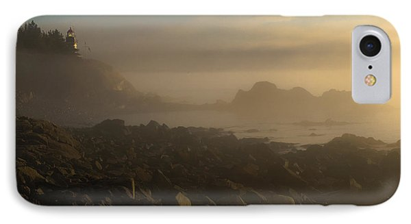Early Morning Fog At Quoddy IPhone Case by Marty Saccone