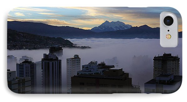Early Morning Fog In La Paz IPhone Case
