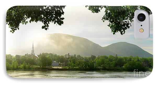 Early Morning Fog On Mont-saint-hilaire IPhone Case