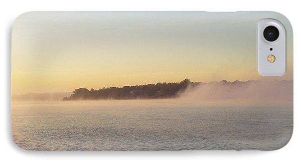Early Morning Fog Rolling In Phone Case by John Telfer