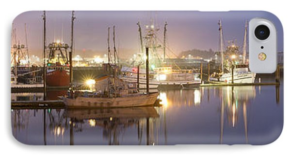 Early Morning Harbor II Phone Case by Jon Glaser