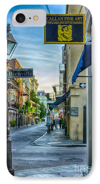 Early Morning In French Quarter Nola IPhone Case by Kathleen K Parker