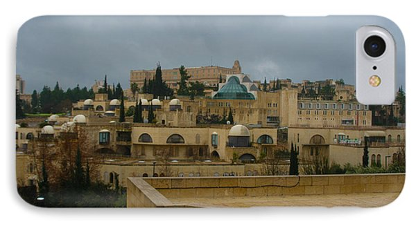 IPhone Case featuring the photograph Early Morning In Jerusalem by Doc Braham