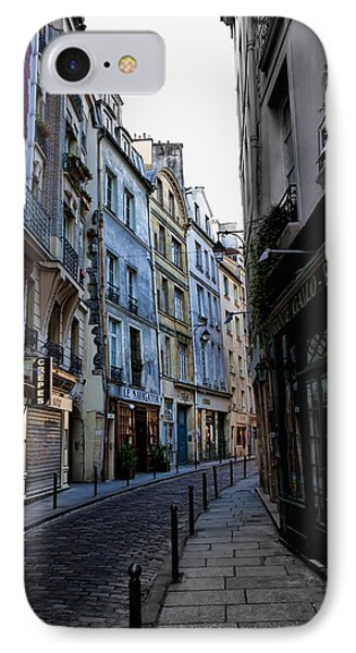 Early Morning In The Latin Quarter Phone Case by Evie Carrier