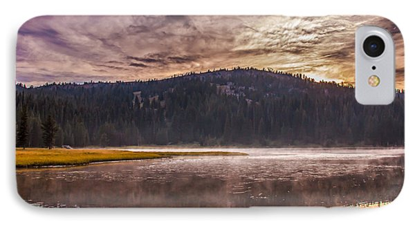 Early Morning Lake Light Phone Case by Robert Bales