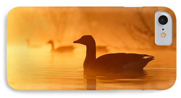 Duck iPhone 7 Case - Early Morning Mood by Roeselien Raimond