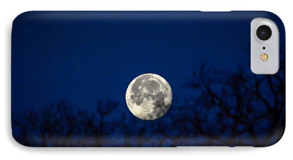 Early Morning Moon IPhone Case