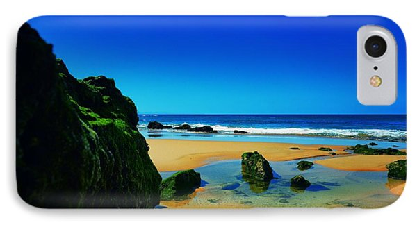 Early Morning On The Beach II Phone Case by Marco Oliveira
