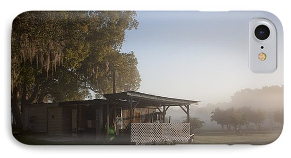 Early Morning On The Farm IPhone Case by Lynn Palmer