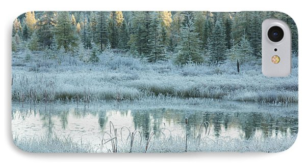 Early Morning Over Costello Creek IPhone Case by Robert Postma