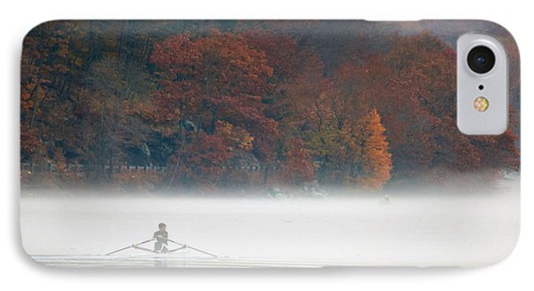 Early Morning Row Phone Case by Karol Livote