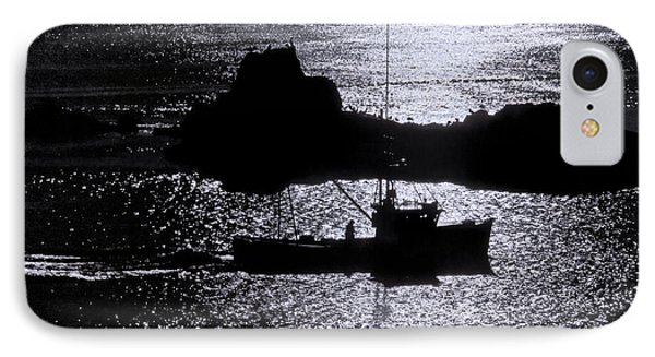 Early Morning Silhouette At Sail Rock Narrows IPhone Case by Marty Saccone