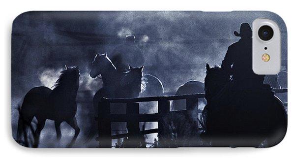 Early Morning Smoke IPhone Case by Joan Davis