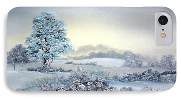 Early Morning Snows IPhone Case by Jean Walker