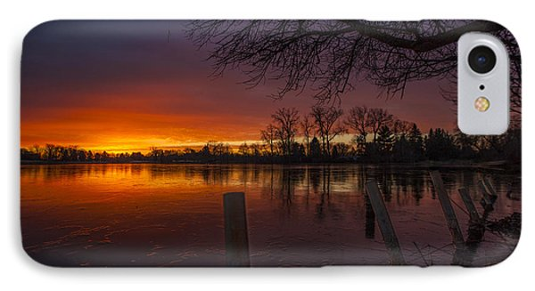 IPhone Case featuring the photograph Early Morning Sunrise by Nicholas  Grunas