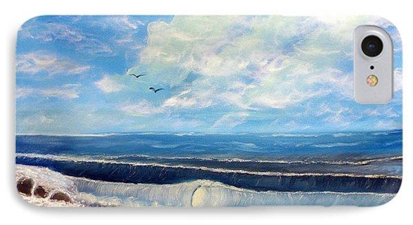 Early Morning Surf Phone Case by Joyce Krenson