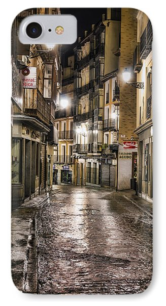 Early Morning Toledo IPhone Case by Joan Carroll