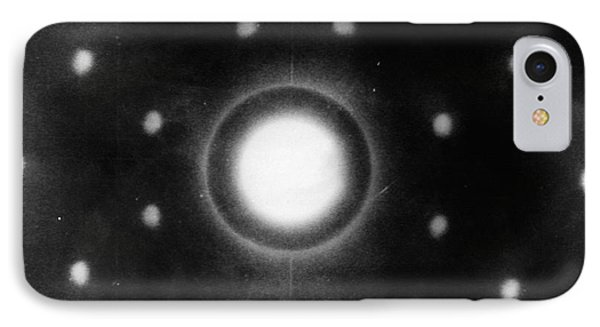 Early Neutron Diffraction Imaging IPhone Case by Oak Ridge National Laboratory, Courtesy Emilio Segre Visual Archives/american Institute Of Physics