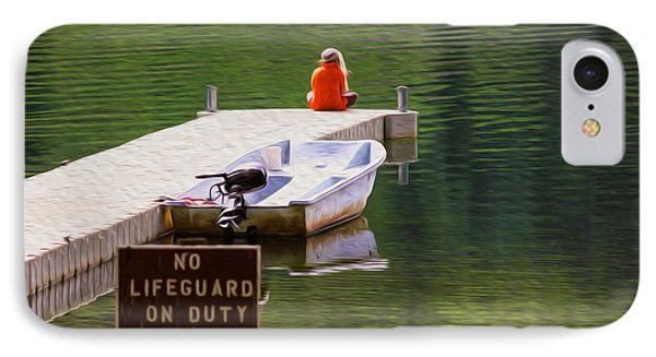 Early One Morning On Patterson Lake Phone Case by Omaste Witkowski