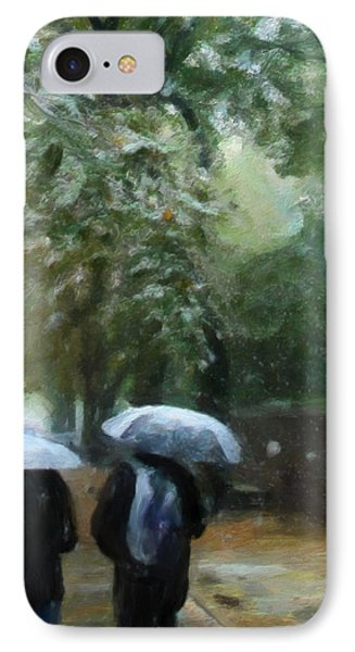 Early Snow Phone Case by Michael Pickett