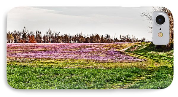 IPhone Case featuring the photograph Early Spring Field by Greg Jackson