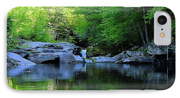 Early Spring Morning At Rock Run Cataracts IPhone Case
