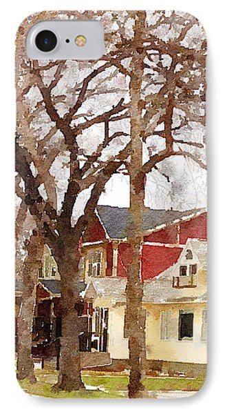 Early Spring Street IPhone Case by Donald S Hall
