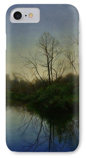 IPhone Case featuring the painting Early Spring by Wayne Daniels