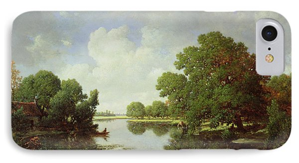 Early Summer Afternoon Phone Case by Pierre Etienne Theodore Rousseau