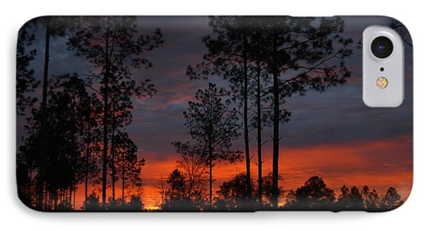 IPhone Case featuring the photograph Early Sunrise by Donald Williams