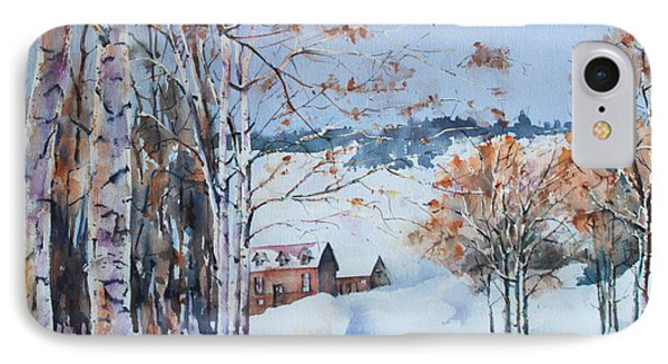Early Winter Day IPhone Case by Marta Styk