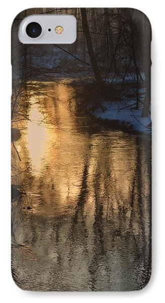 Early Winter Morning Phone Case by Karol Livote