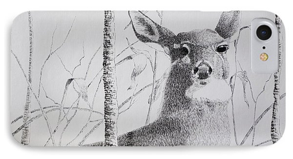 Early Winters Whitetail IPhone Case