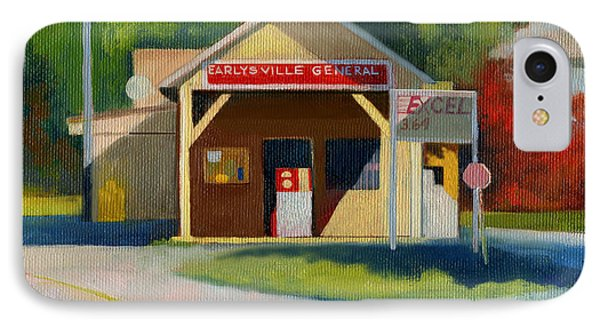 Earlysville Virginia Old Service Station Nostalgia IPhone Case by Catherine Twomey