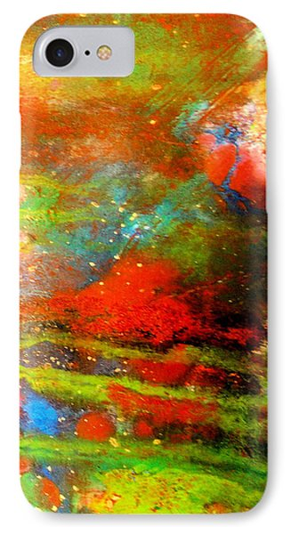 Earth And Sky Abstract IPhone Case