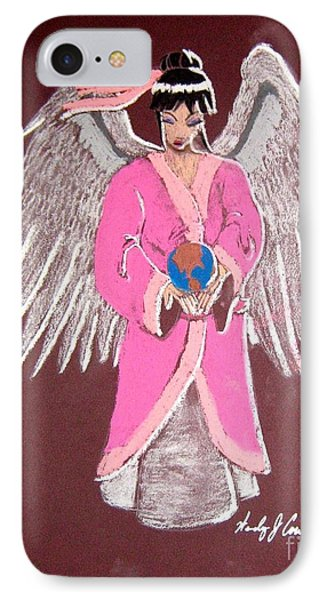 Earth Angel IPhone Case by Wendy Coulson