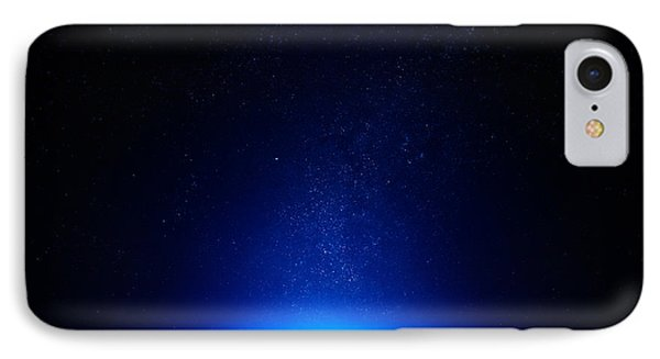Earth At Night With City Lights IPhone Case by Johan Swanepoel