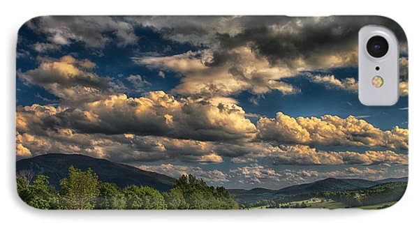 Earth Bending At Mt. Ascutney IPhone Case by Nathan Larson
