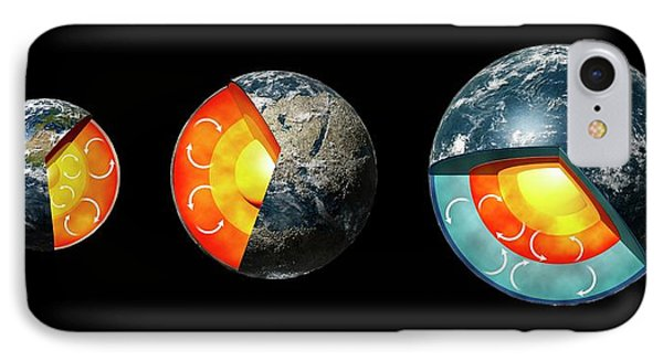 Earth Compared To Exoplanets IPhone Case by Mikkel Juul Jensen