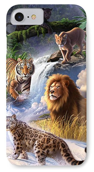 Earth Day 2013 Poster IPhone Case by Jerry LoFaro