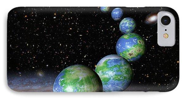 Earth-like Alien Planets IPhone Case by Nasa/esa/g.bacon/stsci